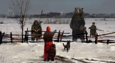 jakub-rozalski-1920-strange visitors