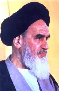 Ayatollah Ruhollah Khomeini. Source.