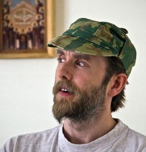 Varg Vikernes in prison, 2009.